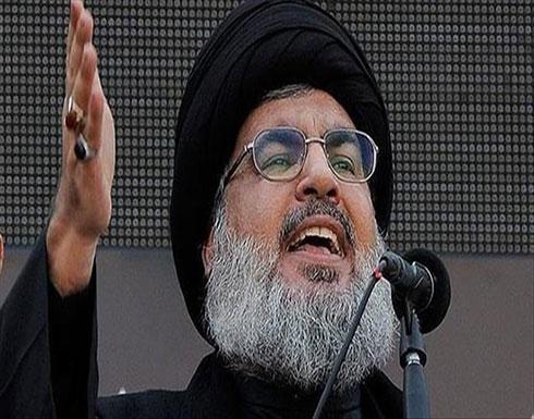 """نصر الله: تصنيف واشنطن الحرس الثوري الإيراني إرهابيا """"سابقة"""""""
