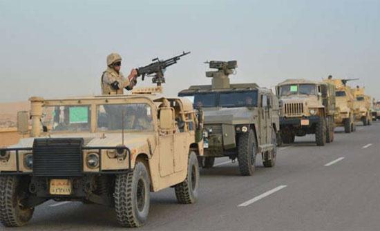 """الجيش المصري يكشف أحدث نتائج عملية """"سيناء 2018"""""""