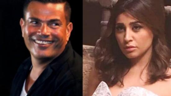 عمرو دياب يخرج عن صمته ويكشف سر الفيديو مع دينا الشربيني