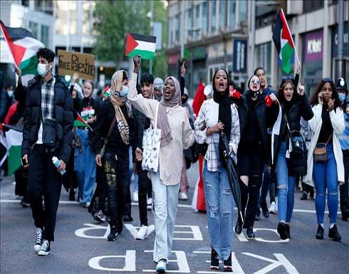 لندن.. تدابير لمنع احتكاك مؤيدين لإسرائيل مع مناصرين لفلسطين