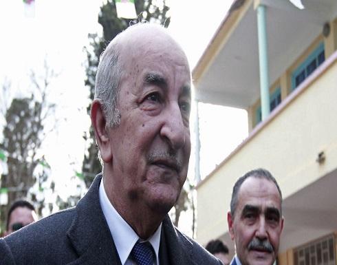 الرئيس الجزائري يعين عبد العزيز جراد رئيسا للحكومة
