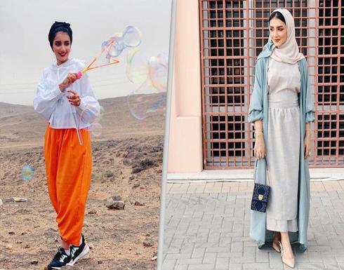 أزياء محتشمة للمحجبات على طريقة الإعلامية خولة المراغي