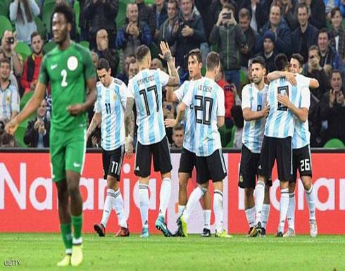 """""""صدمة أرجنتينية"""" قبل مونديال روسيا"""