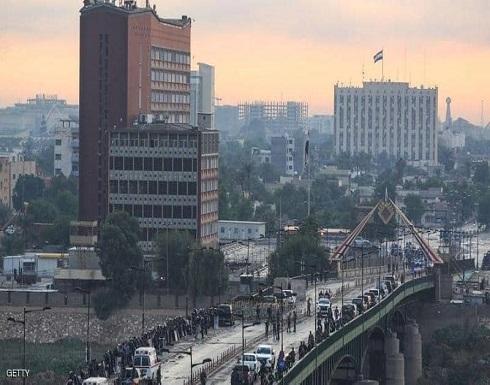 إطلاق صواريخ صوب المنطقة الخضراء في بغداد