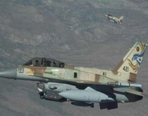 قصف إسرائيلي على مواقع لقوات النظام السوري شمال العاصمة دمشق