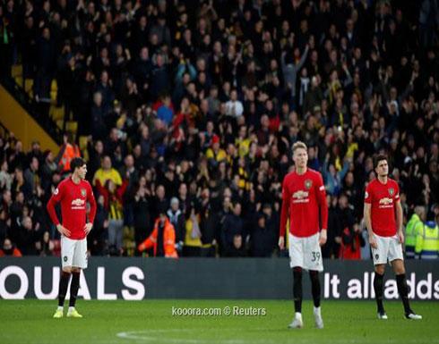 بالصور: سقوط مدو لمانشستر يونايتد أمام متذيل الدوري