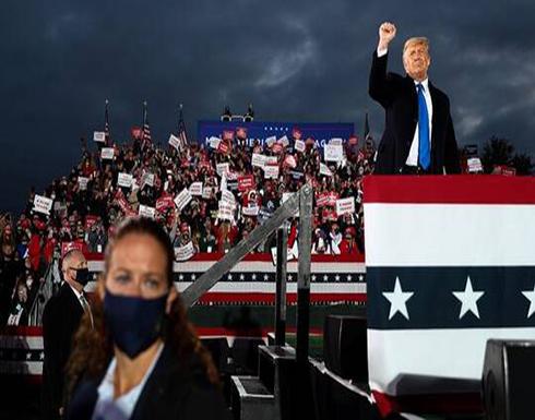 ترامب مهاجما CNN: لا يرون غير كوفيد كوفيد كوفيد!