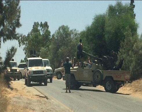 """ليبيا.. مقتل 8 من قوات """"الوفاق"""" جراء غارات طيران """"الجيش الوطني"""" على غريان"""