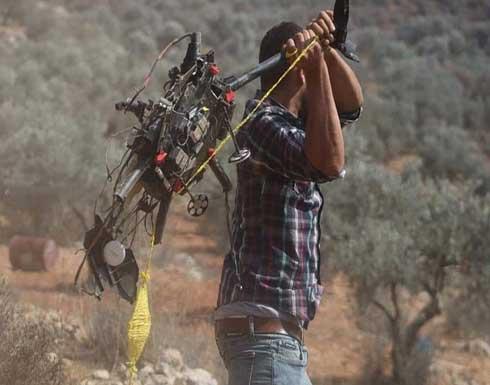 فلسطينيون يستولون على طائرة دورون على جبل صبيح
