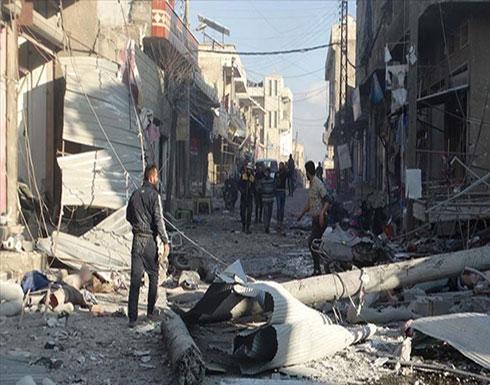 بالفيديو : سوريا.. مقتل 11 مدنيًا في هجمات للنظام وروسيا على إدلب