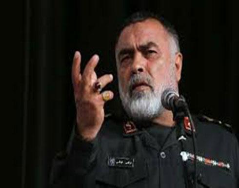 قائد إيراني: بوسعنا إغراق سفن أميركا بطواقمها وطائراتها