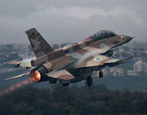 طائرات اسرائيلية تقصف هدفا شرق مدينة غزة
