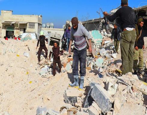 عشرات الضحايا بغارات في إدلب وحلب وريف دمشق