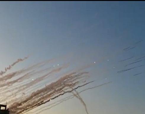 المقاومة تقصف تل أبيب ومدن الجنوب برشقات صاروخية .. بالفيديو