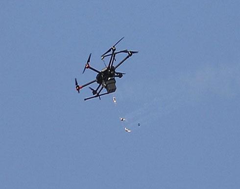 إسقاط طائرة مسيّرة للاحتلال في قطاع غزّة