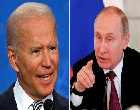 بوتين يقترح على بايدن إجراء محادثات على الهواء مباشرة