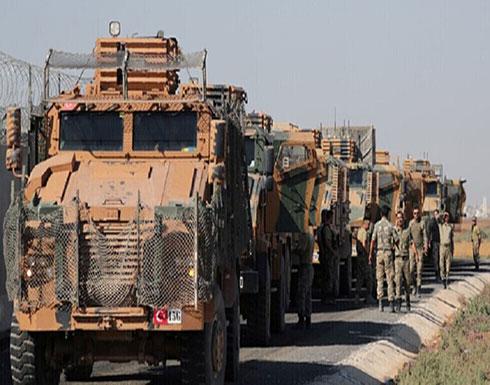 تركيا ترسل تعزيزات كبيرة إلى نقاط المراقبة في إدلب