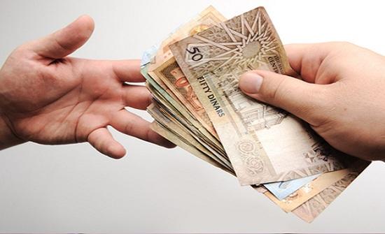 نائب رئيس الوزراء الأردني : الحكومة تقترض من اجل دفع الرواتب