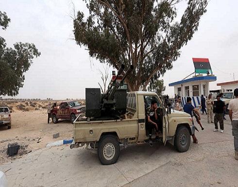 مصادر: طائرات تقصف قاعدة الوطية الجوية في ليبيا