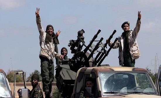 تعزيزات للجيش الليبي على مشارف سرت استعدادا لدخولها