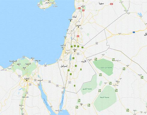 """""""غوغل"""" و""""أبل"""" يحذفان فلسطين من خرائطهما"""