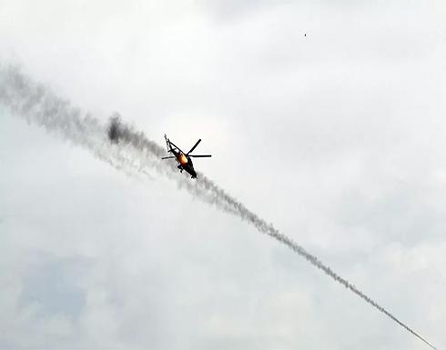 سقوط طائرة عسكرية عراقية ومصرع طاقمها