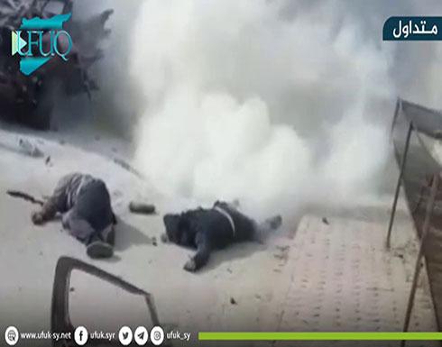 بالفيديو : قتيلان إثر تفجير سيارة مفخخة في أعزاز شمالي سوريا -                 جي بي سي نيوز