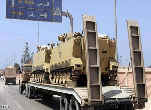 """مصر.. عمليات نوعية للجيش """"من الشرق إلى الغرب"""""""