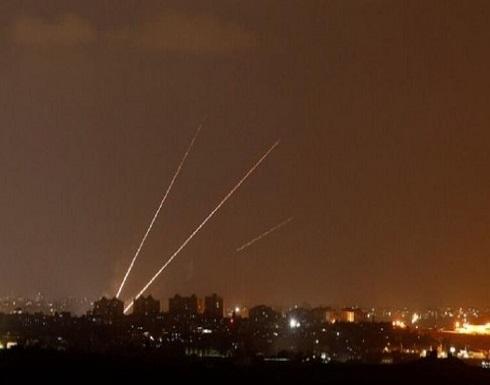 الاحتلال الإسرائيلي: إطلاق 180 صاروخا من غزة