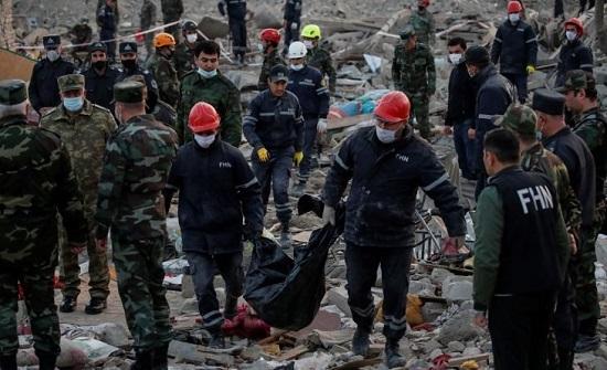 أذربيجان: هجمات أرمينيا قتلت 63 وجرحت 292 مدنيًا