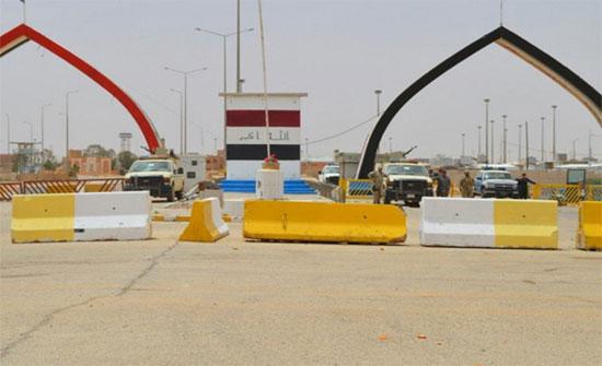 ما حقيقة تجميد الحركة في منفذ طريبيل بين العراق والأردن؟