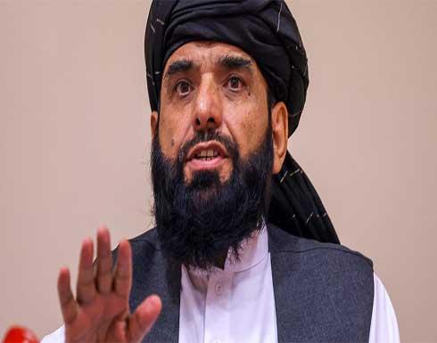 """أول تغريدة للمتحدث باسم طالبان بعد """"الاستقلال الكامل"""" بانسحاب آخر جندي أمريكي من أفغانستان"""