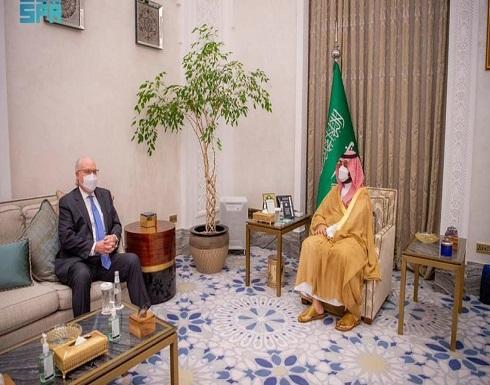 ولي العهد السعودي يبحث مع مبعوث أميركا مستجدات اليمن