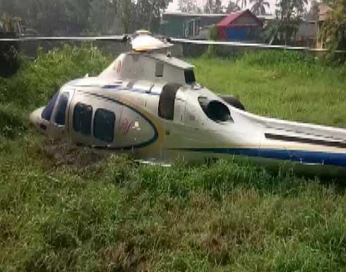 نجاة الملياردير يوسف علي من حادث تحطم مروحيته في الهند