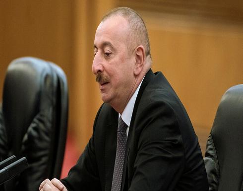 رئيس أذربيجان: تركيا ليست طرفا في نزاع قره باغ ولا وجود لمقاتلين سوريين هناك