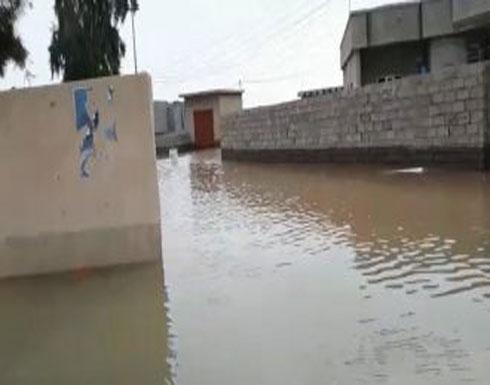 شاهد .. اجتياح السيول محافظات عراقية