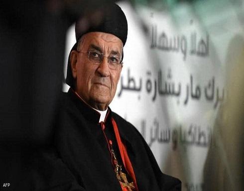 """البطريرك الراعي يدعو إلى دعم الفلسطينيين """"دون التورط عسكريا"""""""