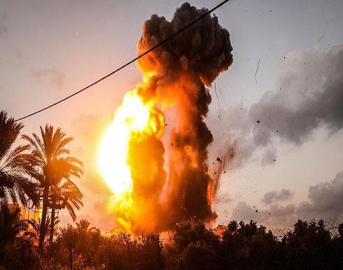 الجيش الإسرائيلي يشن غارة على شمالي قطاع غزة
