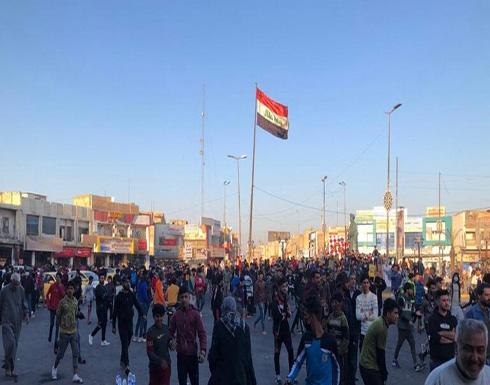 متظاهرو ذي قار يمهلون الحكومة العراقية ثلاثة أيام لتنفيذ 10 مطالب