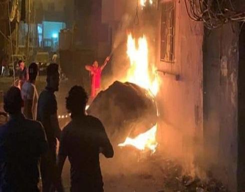 وسائل إعلام لبنانية: انفجار في خزان للمازوت ببيروت .. بالفيديو