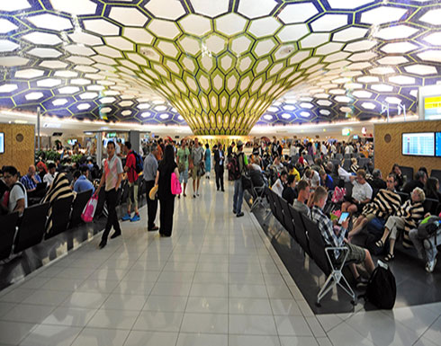 مطار أبوظبي: حادث مركبة لم يؤثر على حركة الرحلات الجوية