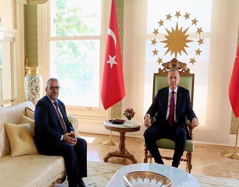 المشري يلتقي أردوغان ويبحث معه آخر تطورات الأزمة الليبية