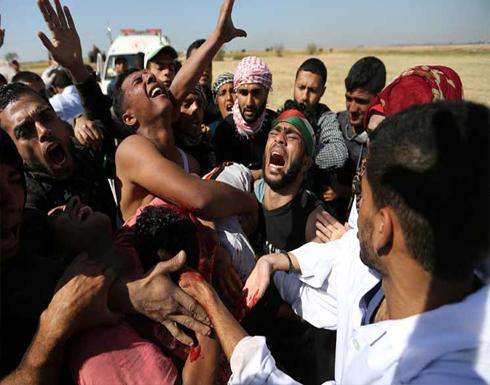 استشهاد فلسطيني برصاص الاحتلال جنوب غزة