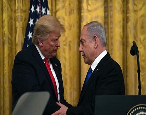 واشنطن لنتنياهو: الضم مقابل دولة فلسطينية