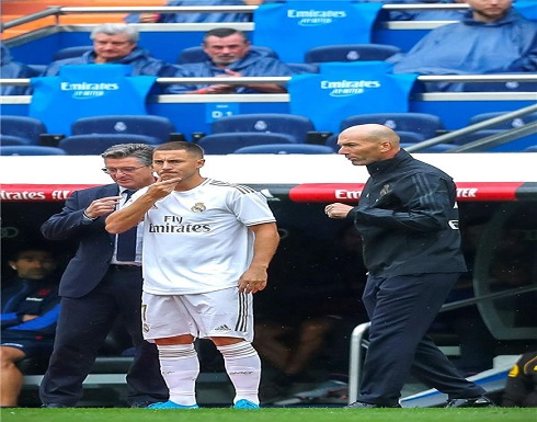 هازارد يسرق أنظار زيدان قبل ديربي مدريد
