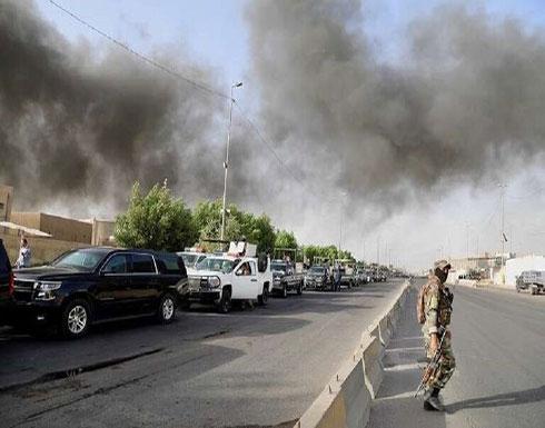 سقوط 4 صواريخ على قاعدة تضم قوات أمريكية قرب العاصمة العراقية بغداد