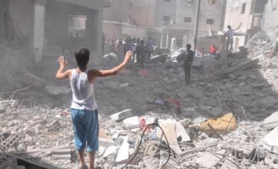 8 قتلى معظمهم مدنيون في غارات على شمال غرب سورية