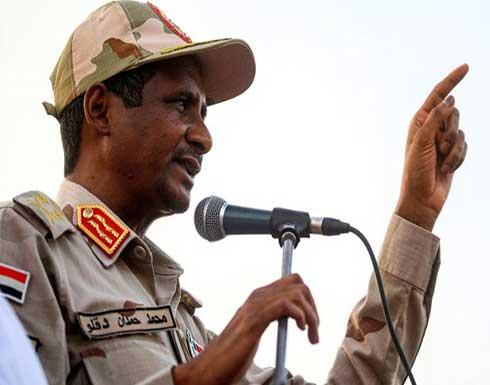 """""""ويللا"""" العبري: غضب في السودان من زيارات الموساد لحميدتي"""