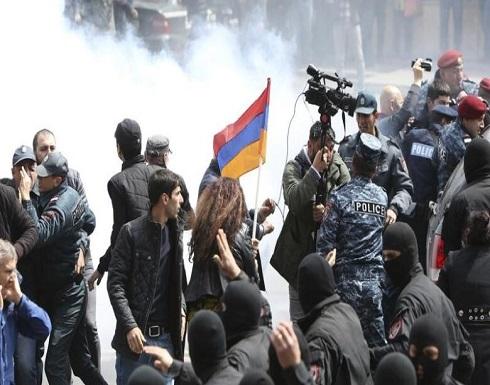 """أرمينيا: مظاهرات منددة..وجلسة طارئة في البرلمان لبحث استقالة """"باشينيان"""""""