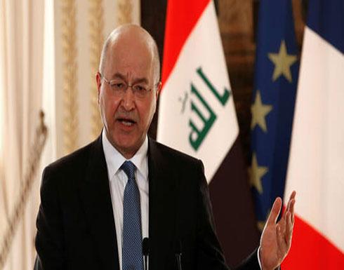 صالح يمهل الكتل السياسية حتى يوم السبت للاتفاق على بديل عبد المهدي